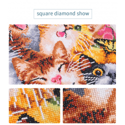 Dandelion Sunset Diamond...